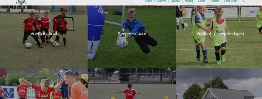 Nieuwe website voetbalschool Zeeland