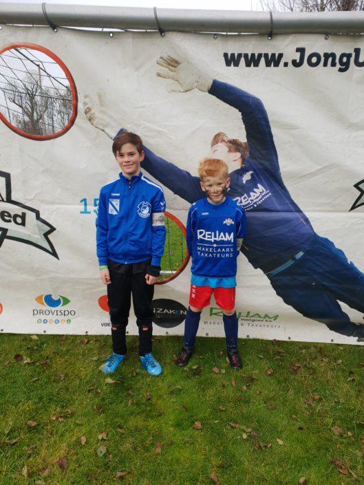 aanvoerders voetbalschool Zeeland