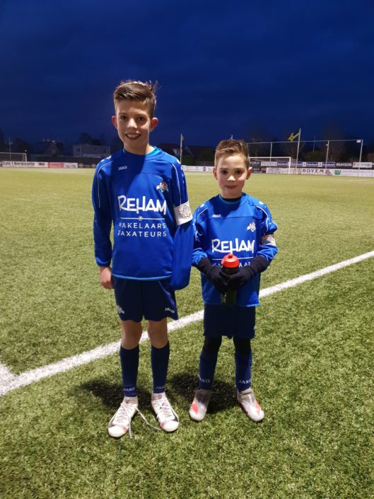 aanvoerders voetbalschool Zeeuws-Vlaanderen