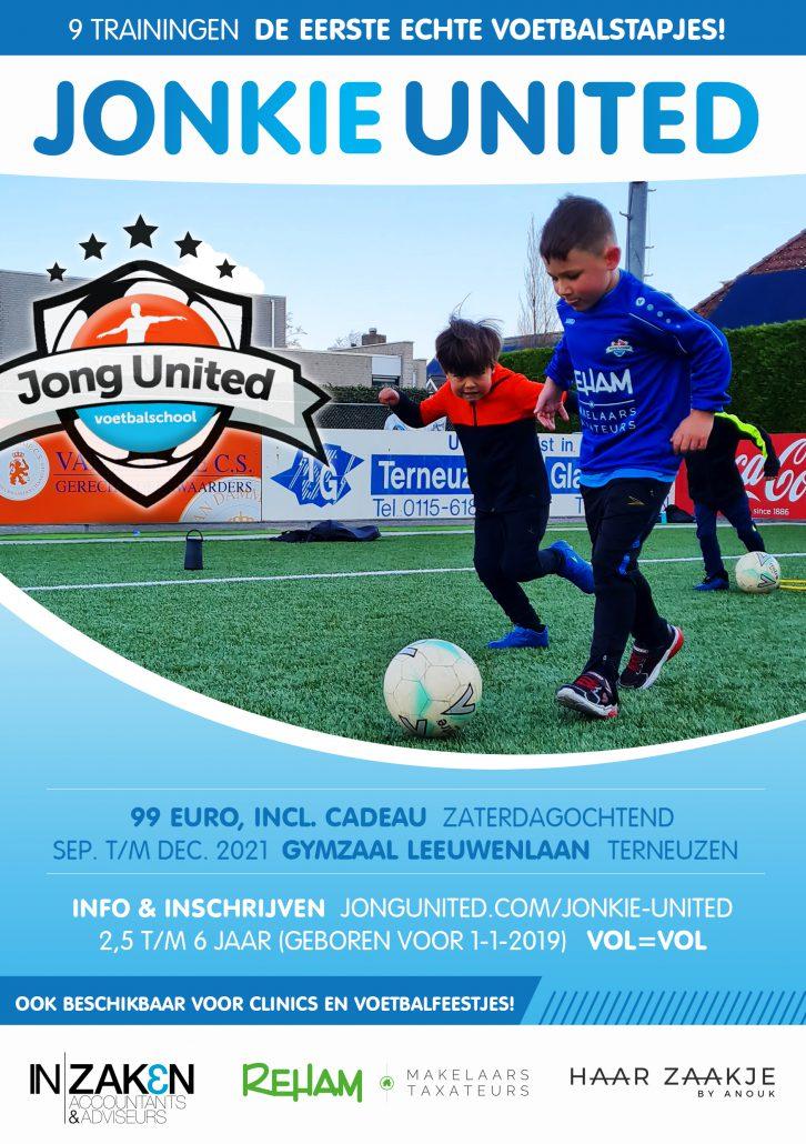 Jonkie United voetbal